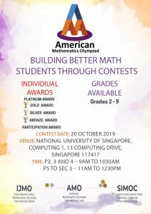 Singapore International Math Contests Centre – Singapore